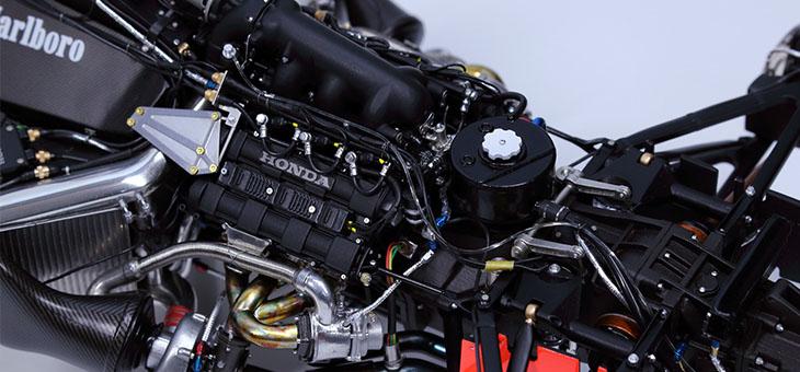 1/12 迈凯轮 MP4/4 F1赛车模型