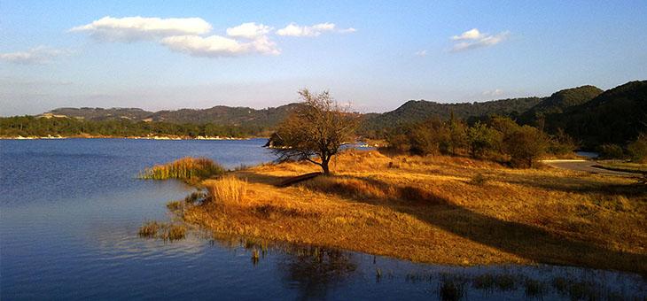 长湖风景区